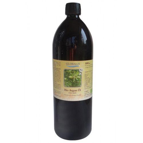 Globalis - Oase der Natur ARGANÖL Bio Premium 100% Rohkost Violettglas 1000 ml 472a