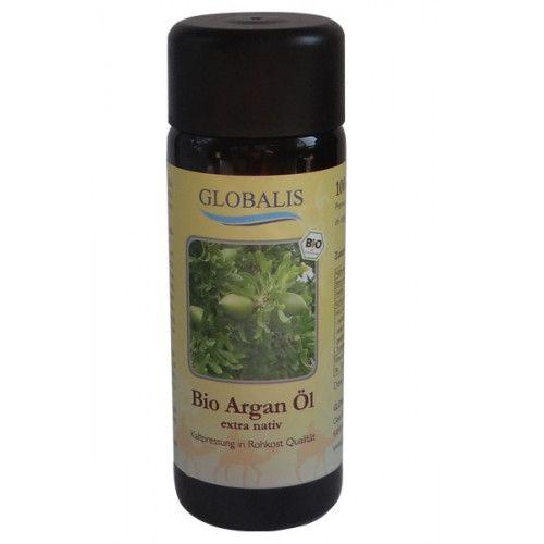 Globalis - Oase der Natur ARGANÖL Bio Premium 100% Rohkost Violettglas 100 ml 473