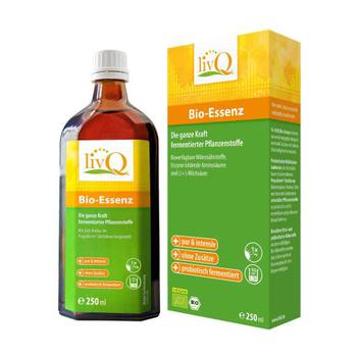 livQ AG LIVQ Bio-Essenz probiotisch fermentiert 250 ml 10303