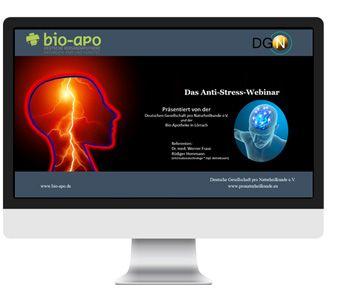 Antistress-Webinar