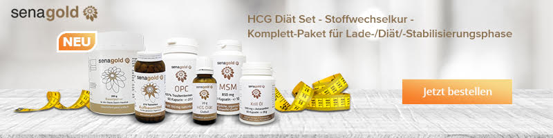 Senagold HCG Diät Set
